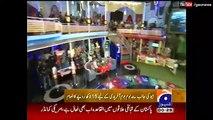 Shahid Afridi 's Family in Geo TV Inaam Ghar with Amir Liaquat
