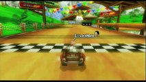 """MKW Time Trial w/ a kart: Yoshi Falls 1'01""""386 by LordNate"""