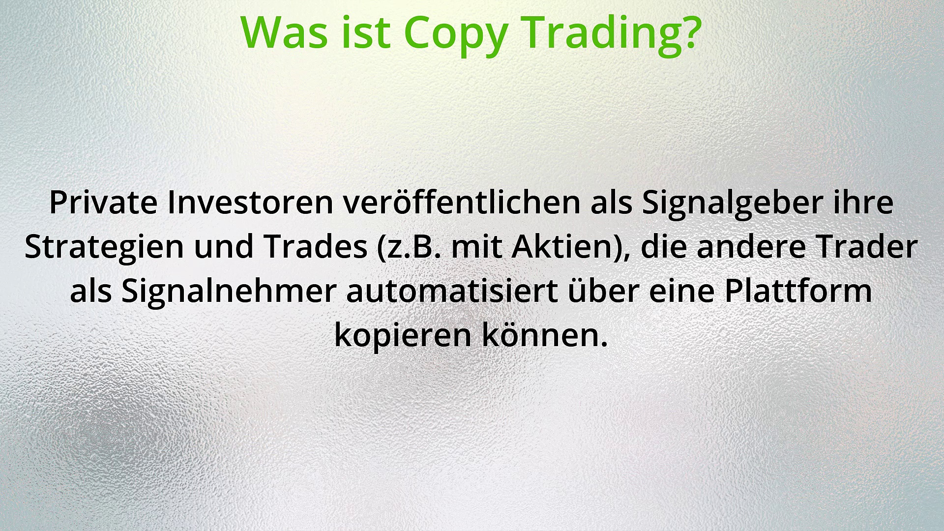Was ist Copy Trading? Social Trading 101 – Folge 1