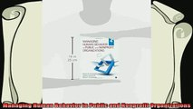 best book  Managing Human Behavior in Public and Nonprofit Organizations