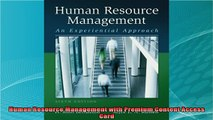 new book  Human Resource Management with Premium Content Access Card