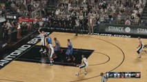 Jeux vidéo - NBA : Sur NBA 2K16, OKC remporte le match 5 à San Antonio