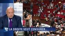 """Le Guen juge """"inconcevable"""" que des députés PS votent la motion de censure de la droite"""
