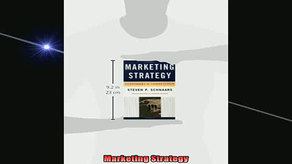 READ book  Marketing Strategy Full EBook