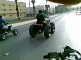 "26"" on raptor 660 @ Riyadh saudi arabia"