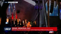 Israel: Minute-long ran across country marks beginning of Memorial Day events