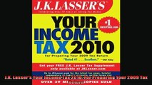 FREE DOWNLOAD  JK Lassers Your Income Tax 2010 For Preparing Your 2009 Tax Return  DOWNLOAD ONLINE