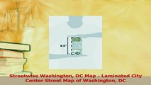 Download  Streetwise Washington DC Map  Laminated City Center Street Map of Washington DC Ebook Free