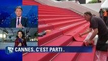 Cannes: derniers préparatifs avant l'ouverture
