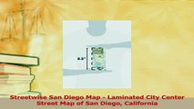 Read  Streetwise San Diego Map  Laminated City Center Street Map of San Diego California Ebook Free
