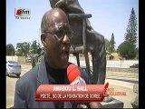 Vidéo- Corniche : Des inconnus vandalisent la statue du président Léopold Sédar Senghor