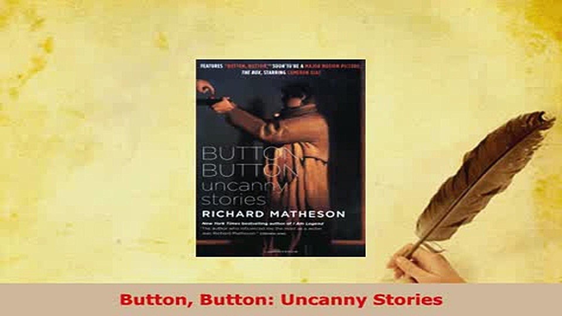PDF  Button Button Uncanny Stories Read Online