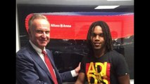 Bayern Munich announce Renato Sanches signing from Benfica