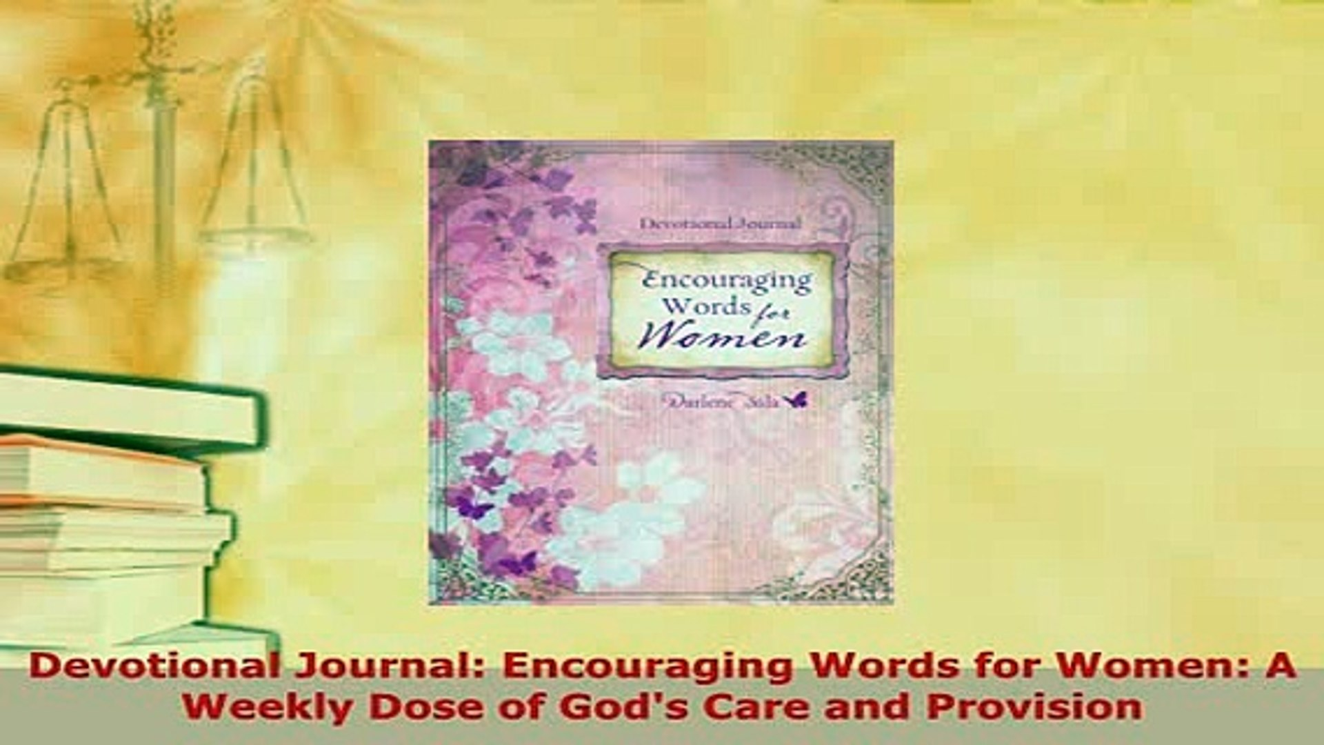 Encouraging Words in a Discouraging World (366 daily devotional readings)