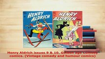 Download  Henry Aldrich issues 9  10 Golden age Comedy comics Vintage comedy and humour comics Free Books