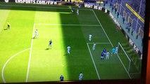Moussa Dembélé overhead kick FIFA 16