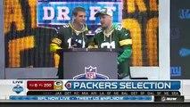 2016 NFL Draft Rd 6 Pk 200 Green Bay Packers Select OT Kyle Murphy.