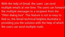 Forward multiple mails by Gmail account at one time