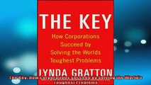 READ book  The Key How Corporations Succeed by Solving the Worlds Toughest Problems Full EBook