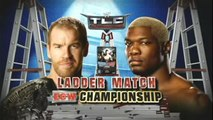 Christian vs Shelton Benjamin Ladder Match ECW Championship TLC: Tables Ladders and Chairs 2009