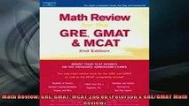 Downlaod Full PDF Free  Math Review GRE GMAT MCAT 2nd ed Petersons GREGMAT Math Review Free Online