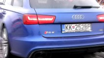 Audi RS6 Vs. Honda Civic