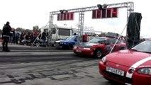 Opel Calibra Bimoto Turbo 1400 HP Vs. BMW E30 M3 Turbo