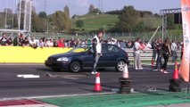 Audi S2 V8 Biturbo Vs Honda Civic VTI Turbo