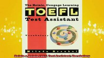 READ book  Heinle  Heinle TOEFL Test Assistant Vocabulary Full EBook
