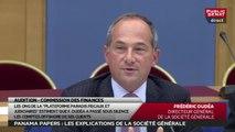 """Panama Papers : Frédéric Oudéa """"embarrassé"""" par les questions d'Éric Bocquet"""