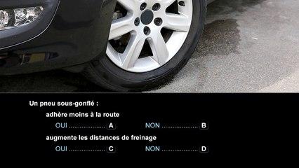 Nouvelle épreuve du code de la route - Connaître les principaux organes du véhicule