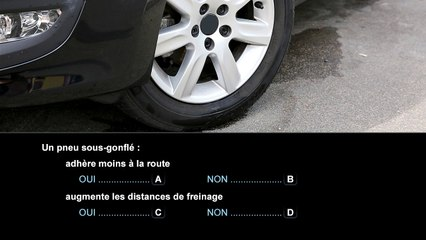 Question 22 - Connaître les principaux organes du véhicule