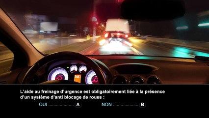 Nouvelle épreuve du code de la route - Nouvelles technologies/Equipements de sécurité