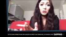 Cette jeune femme filme son suicide en direct sur Périscope, les images choc
