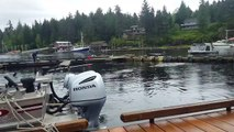 Oh Hai!: Massive Humpback Whale Breaches Right Next To Fisherman On Dock In Alaska