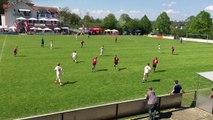 U13–REWE–CUP 07 Mai 2016 Büchig 1. Halbfinale Vfb Stuttgart–1. FC Nürnberg - 3-0