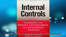 FREE PDF  Internal Controls Guidance for Private Government and Nonprofit Entities  BOOK ONLINE