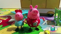 Peppa Pig Campervan Playset Barbeque Picnic Daddy Pig Toys Review Auto Caravana