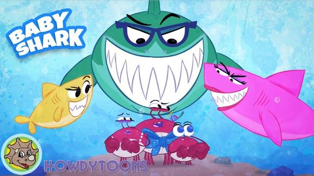 Baby Shark Song - Music for Children - Nursery Rhymes by Howdytoons