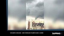 Violents orages dans le Nord : Une tornade passe au-dessus d'une ville (Vidéo)