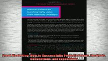 READ FREE Ebooks  Event Marketing How to Successfully Promote Events Festivals Conventions and Expositions Online Free