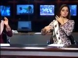 Yousuf Raza Gillani Ki Beti Bari Tight Hai,Pakistani News Anchor Behind The Camera