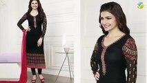 Heavy Designer Pakistani Suit - Embroidery Pakistani dresses