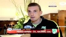 Franco Armani y su análisis en la previa del juego entre Rosario Central y Nacional · Copa Libertadores 2016 (cuartos, ida)