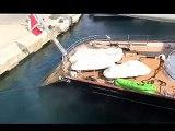 S/y Maltese Falcon departing Malta