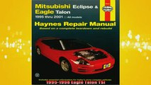 Free Full PDF Downlaod  Haynes Mitsubishi Eclipse  Eagle Talon 1995 thru 2001 Haynes Repair Manuals Full EBook