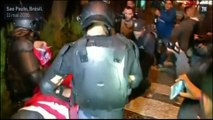 Des violences policières ont émaillé une manifestation à Sao Paulo