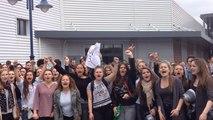 """""""49.3, on n'en veut pas !"""" Les lycéens d'Auray en colère"""