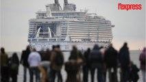 L'Harmony of the seas, plus gros paquebot du monde va quitter la France