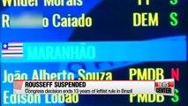 Brazil's Rousseff suspended as Senate votes for impeachment